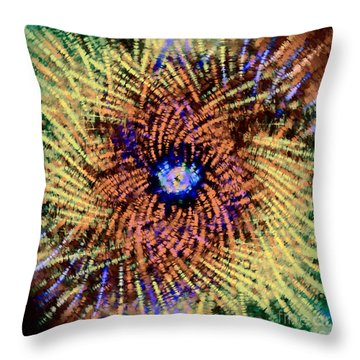 Abstract Swirl 01 Throw Pillow