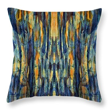 Abstract Symmetry I Throw Pillow