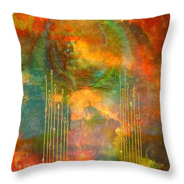 Abstract The World As It Is  Throw Pillow