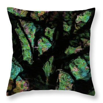Abstract Tree 403 Throw Pillow