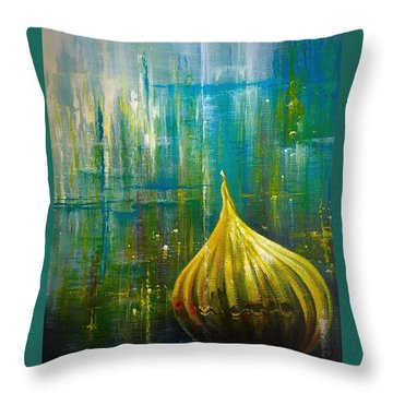 Abstract  Throw Pillow by Vesna Delevska