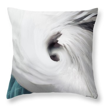 Abstract Water 1 Throw Pillow