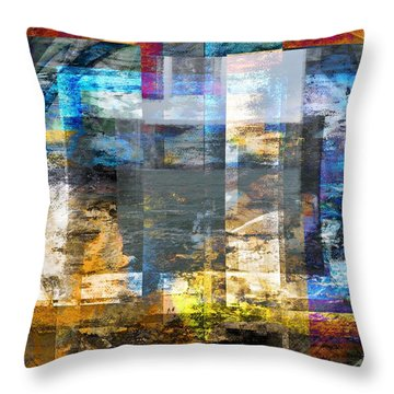 Abstract Wave .. Throw Pillow