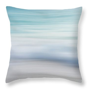 Throw Pillow featuring the photograph Abstract Wave Photograph by Ivy Ho