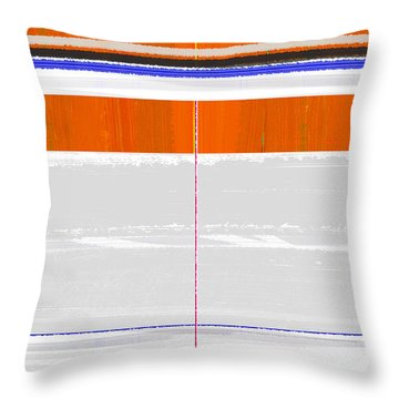 Abstract Way Throw Pillow by Naxart Studio