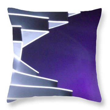 Abstract3 Throw Pillow by John Wartman