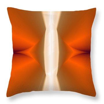 Abstract309b Throw Pillow by David Lane