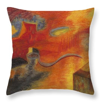 Abstraction Attractions Throw Pillow