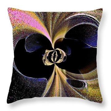 Abstraction Throw Pillow by Blair Stuart