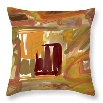 Abstraction Collect 1 Throw Pillow