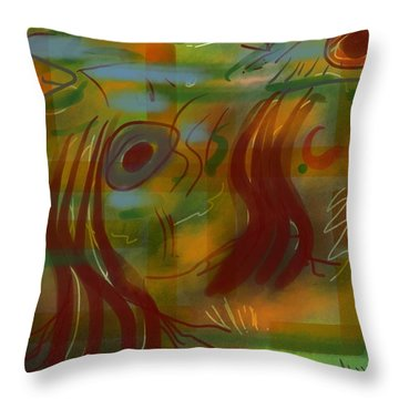 Abstraction Collect 5 Throw Pillow