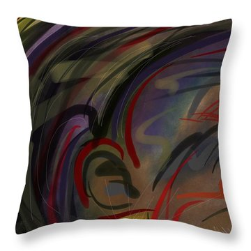 Fro Abstraction 2 Throw Pillow