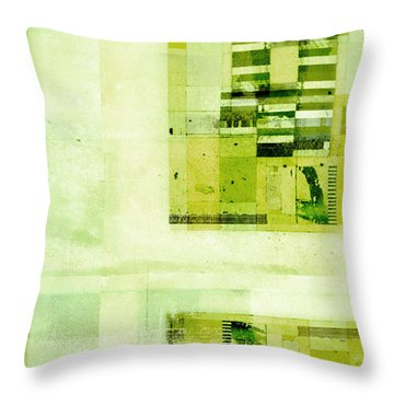 Throw Pillow featuring the digital art Abstractitude - C4v by Variance Collections