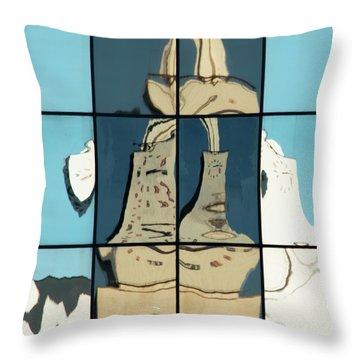 Abstritecture 17 Throw Pillow