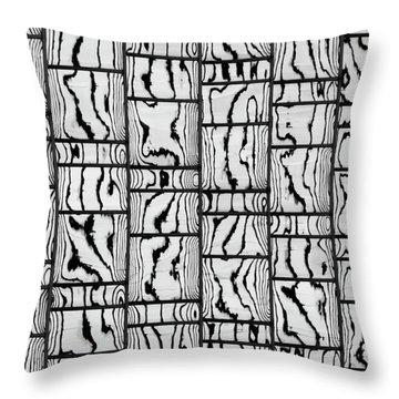 Abstritecture 18 Throw Pillow