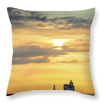 Throw Pillow featuring the photograph Abundance Of Atmosphere by Bill Pevlor