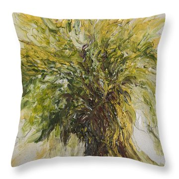 Abundance Tree Throw Pillow