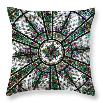 Abundancia Throw Pillow