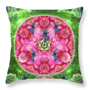 Abundant Flight Throw Pillow