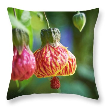 Abutilon Throw Pillow
