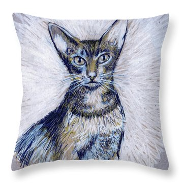 Aby Throw Pillow