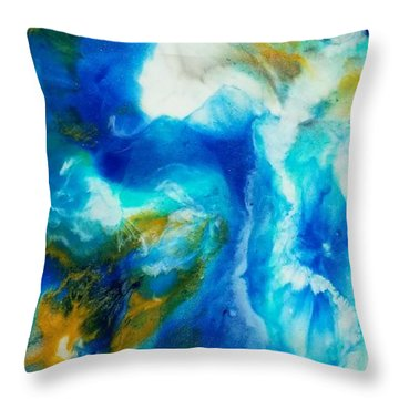 Abyss  Throw Pillow