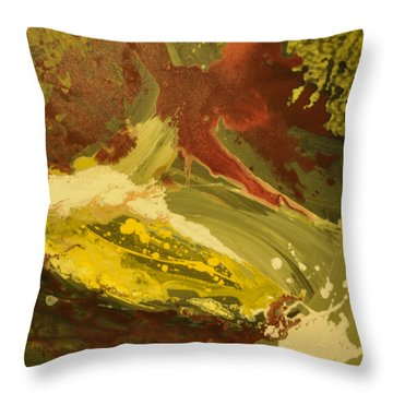 Abyss1 Throw Pillow