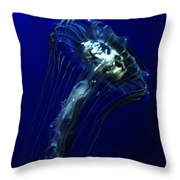 Abyssal Throw Pillow by Jeremy Martinson