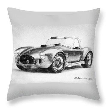 Ac Cobra Shelby 427  Throw Pillow