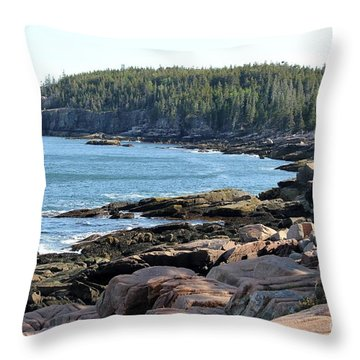 Acadia Cove Throw Pillow