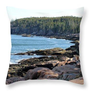 Acadia Cove Throw Pillow