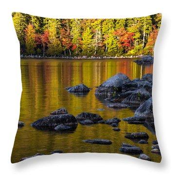Acadian Glow Throw Pillow