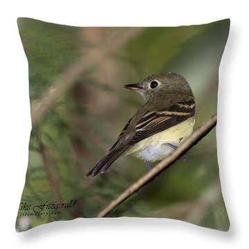 Acadian Throw Pillow