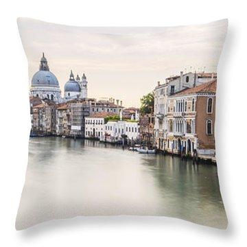Accademia Bridge Throw Pillow
