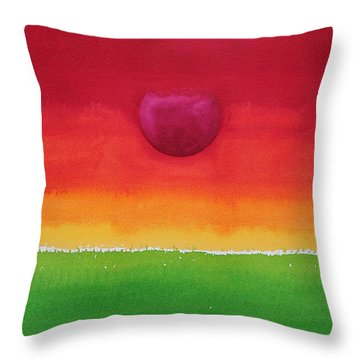 Acceptance Original Painting Throw Pillow