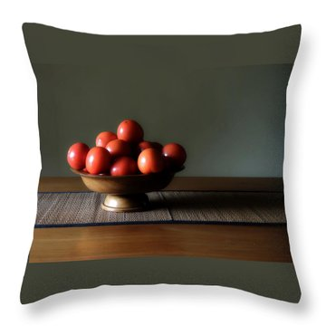 Accidental Still Life. Throw Pillow