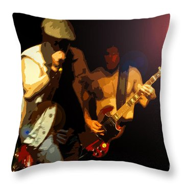Acdc Throw Pillow by David Lee Thompson