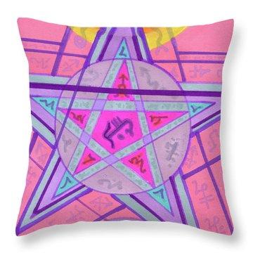 Ace Of Solomon Throw Pillow