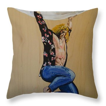 Achilles Last Stand Throw Pillow