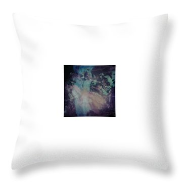 Acid Wash Throw Pillow