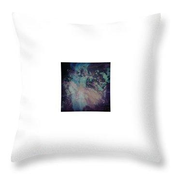 Acid Wash Throw Pillow