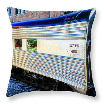 Moultrie Dining Car Throw Pillow