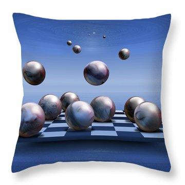 Acolytes Throw Pillow