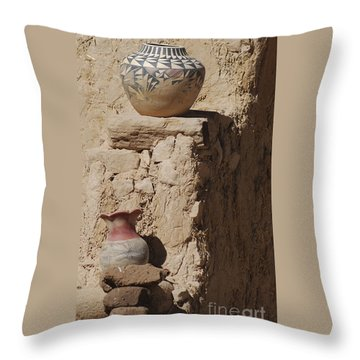 Acoma Pueblo Pottery Throw Pillow