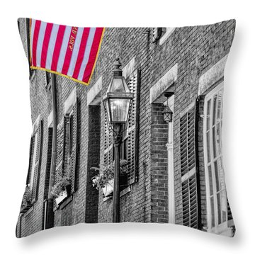 Acorn Street Details Sc Throw Pillow