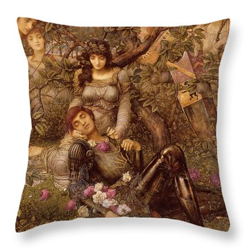Acrasia Throw Pillow