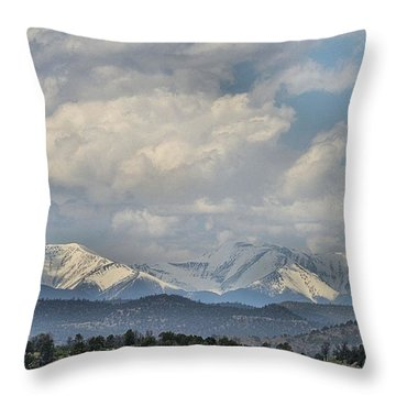 Across The Border Throw Pillow