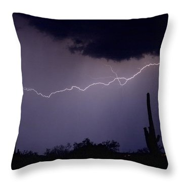 Across The Desert Throw Pillow by James BO  Insogna