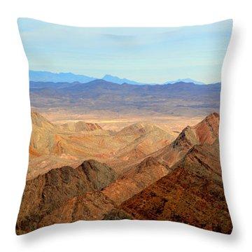 Across The Range Throw Pillow