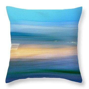 Across The Seven Seas Throw Pillow